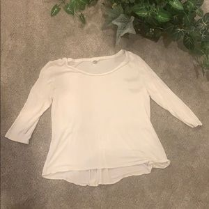 Fossil brand t shirt with gathered back Medium